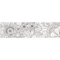 Samolepilni trak, 50 mm x 5 m, cvetlice