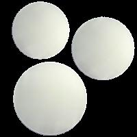Silhueta, Pongé 08, krog, 25 cm