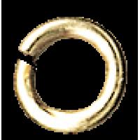 Spojni obroček, Ø4,8 mm, zlat
