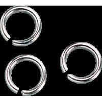 Spojni obroček, Ø5mm, srebrn