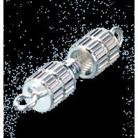 Spojni vijak, valj, 10 mm, srebrn