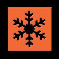 Štanca, ca. 25 mm, snežinka