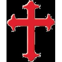 Štanca, ca. 16 mm, križ