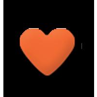 Štanca, ca. 16 mm, srce