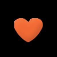 Štanca, ca. 25 mm, srce