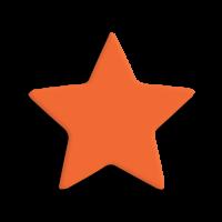 Štanca, ca. 25 mm, zvezda