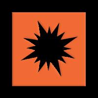 Štanca, ca. 25 mm, zvezda Moravian