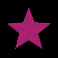 Štanca, ca. 32 mm, 3D zvezdica