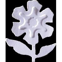 Štanca EFCO, ca. 32 mm, reliefna rožica s steblom