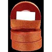 Trak Glitter, 25 mm, rdeč, dolžina 22 m