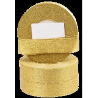 Trak Glitter, 25 mm, zlat, dolžina 22 m
