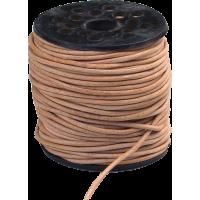 Usnjena vrvica, Ø1.5 mm, 1 meter