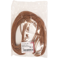 Usnjena vrvica, Ø2 mm, 1 meter