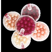 Voščene perle, Ø8 mm, 32 perl