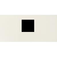 Voščilnica, kvadratni izrez, bela, trodelna, 165 x 340 mm