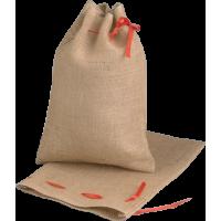 Vreča iz jute z vrvico, 25 x 35 cm