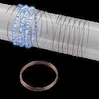 Vzmetna žica za zapestnico, 90 cm
