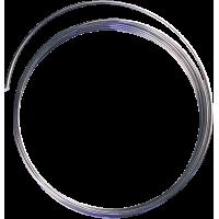 Žica iz aluminija, Ø2 mm, 2 m, srebrna