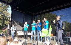 Srebrnim odbojkarjem čestitali še v Slovenski Bistrici