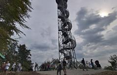 S poslušalci smo šli na stolp na Rudnico