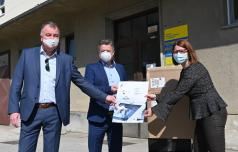 Celjska podjetja za bolnišnico zbrala več kot 180 tisočakov