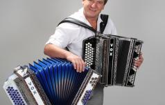 Za vedno je odložil harmoniko Tine Lesjak