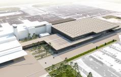 Slatinski gradbinec v gradnjo letališkega terminala na Brniku