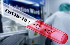 Ponedeljek in koronavirus v naših krajih