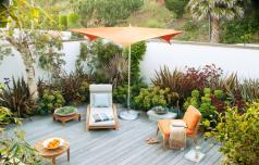 Prostor za počitek na domačem vrtu