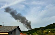 V Šmarju spet velik požar
