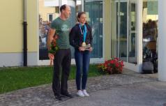Laščani ponosni na svojo plezalko, svetovno prvakinjo