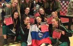 Celjske plesalke hip hopa evropske prvakinje