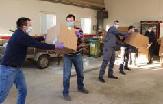 Rogaška Slatina prejela še eno pošiljko mask, delila jih bo tudi sosedom