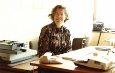 Tajnica Marija Ožura o spominih na delo na šmarski šoli