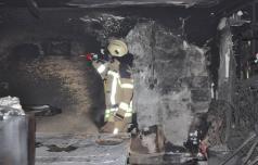 V požaru v Žičah zastrupitev treh oseb