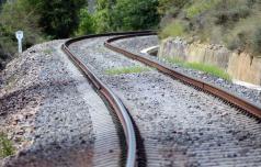 V Rimskih Toplicah spet iztiril vlak