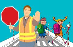 Za varno pot v šolo in domov