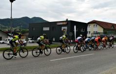 Tri etape kolesarske dirke po Sloveniji po naših krajih