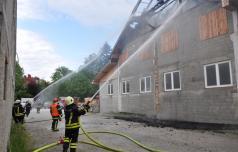 Dan po požaru v Slovenskih Konjicah