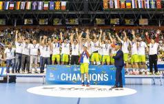 Slovenski rokometaši evropski mladinski prvaki