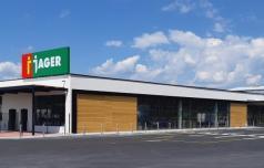 Trgovski center Jager v Šentjurju tik pred odprtjem
