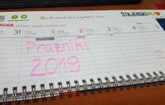 Leto 2019 prineslo ducat dela prostih dni
