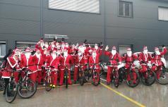 Če ni snega, Božički pridejo s kolesi