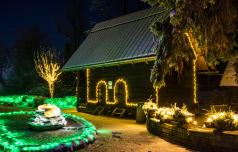 Božična bajka ob več kot milijonu lučk