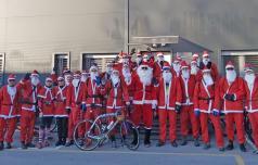 Božički so tudi letos sedli na kolo