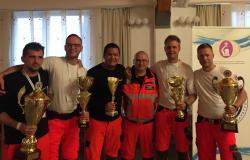 Varni v zmagovalnih rokah celjskih reševalcev