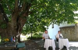 Na poroko v nov paviljon pri šentjurski Ipavčevi hiši