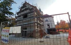 Šmarska cerkev je skrivala 400-letne freske