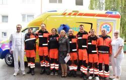 Reševalci na Šmarskem z novim vozilom