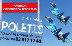 Poleti na letalski miting AEROS 2019